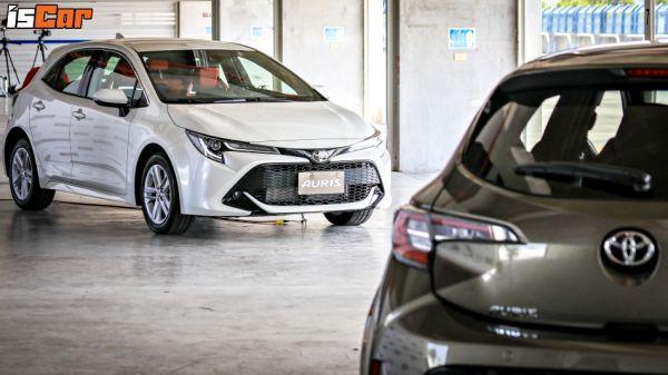 運動神車終於降臨!Toyota Auris 全車系標配 TSS「87.9萬起」預售活動正式開跑!