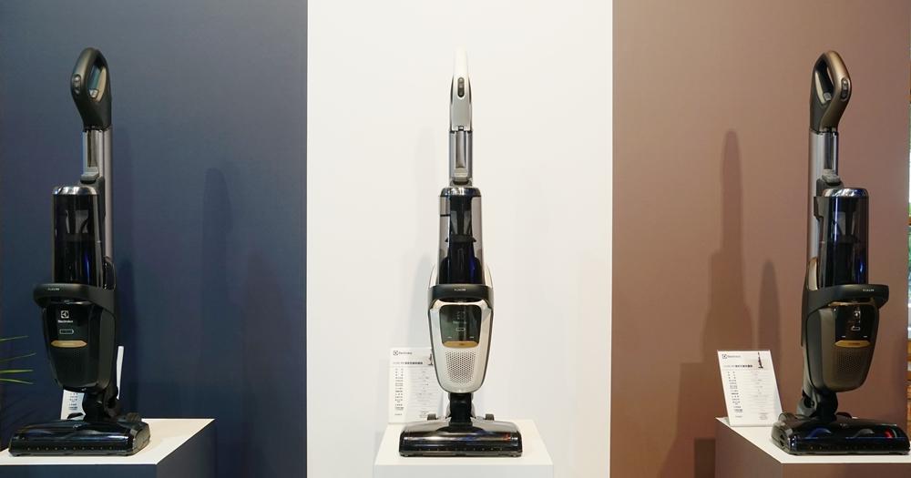 伊萊克斯 Pure F9 百變吸塵器上市,可直立、可手持、有 HEPA 濾網,售價 26,900 元
