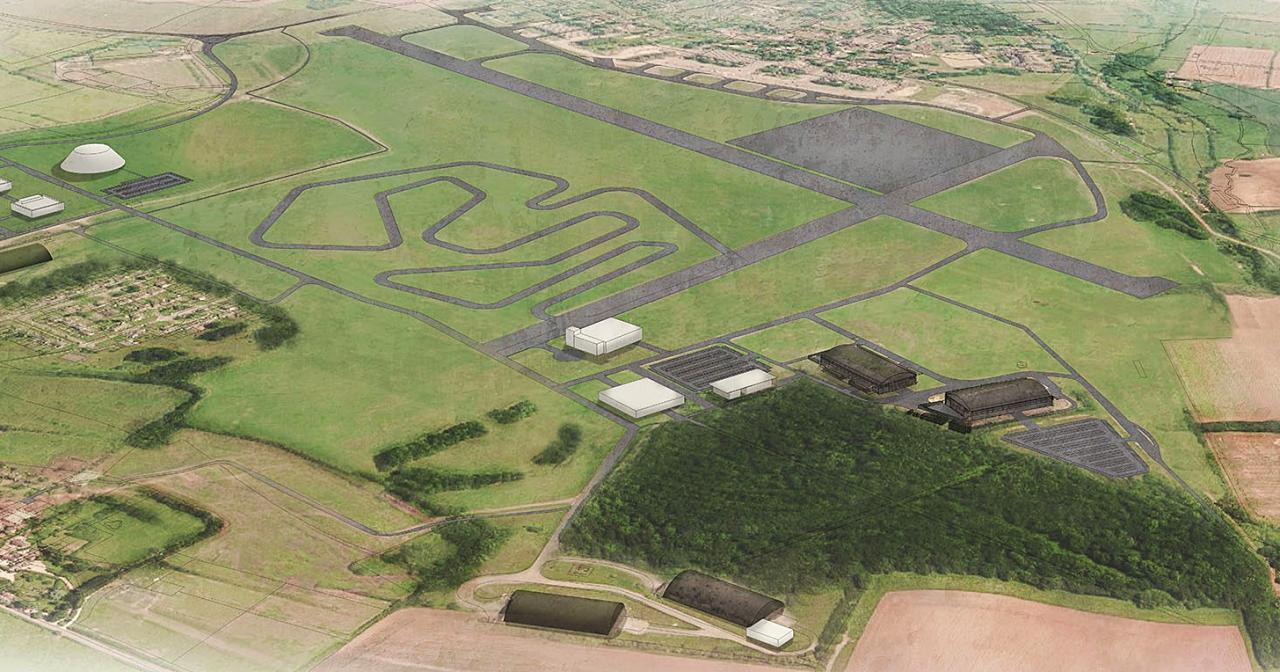 為展現電動車決心,Dyson 斥資 2 億英鎊買下二戰飛機場來打造測試跑道
