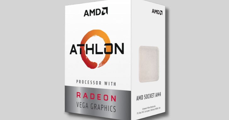 AMD Athlon 品牌處理器續命,推出結合 Zen 與 Vega 的 Athlon 200GE、Athlon 220GE、Athlon 240GE