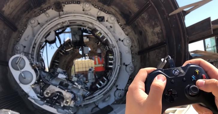 除了玩遊戲,Xbox 的手把還能拿來做什麼?答案是挖隧道!