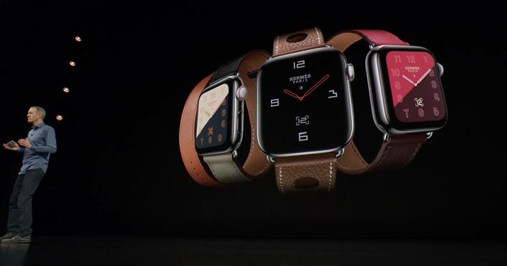 Apple Watch Series 4 發表,尺寸加大到 40mm 及 44mm,支援心電圖、跌倒偵測功能和心律監測