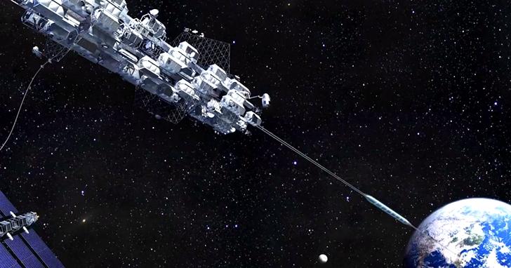 日本建設公司率先測試迷你太空電梯