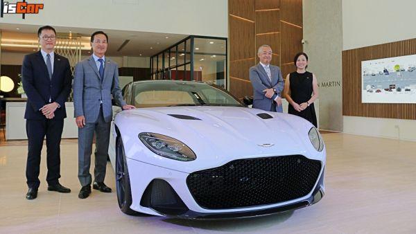 永三汽車Aston Martin高雄展示中心開幕, DBS Superleggera、DB11 AMR Signature Edition連袂亮相!