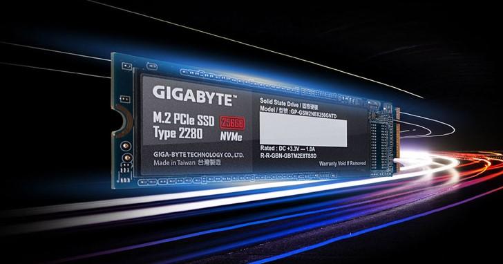 繼 2.5 吋 SATA SSD,GIGABYTE 再推出 M.2 2280 NVMe SSD,主攻硬碟升級族群