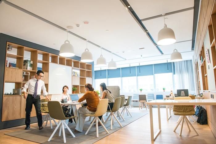 把阿姆斯特丹共享空間搬進台北 Spaces IFC宏盛正式揭幕