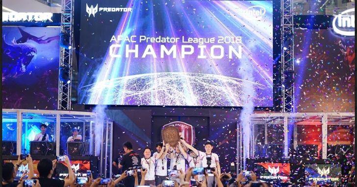 宏碁亞太區Predator第二屆電競聯盟大賽開跑,總獎金高達40萬美元