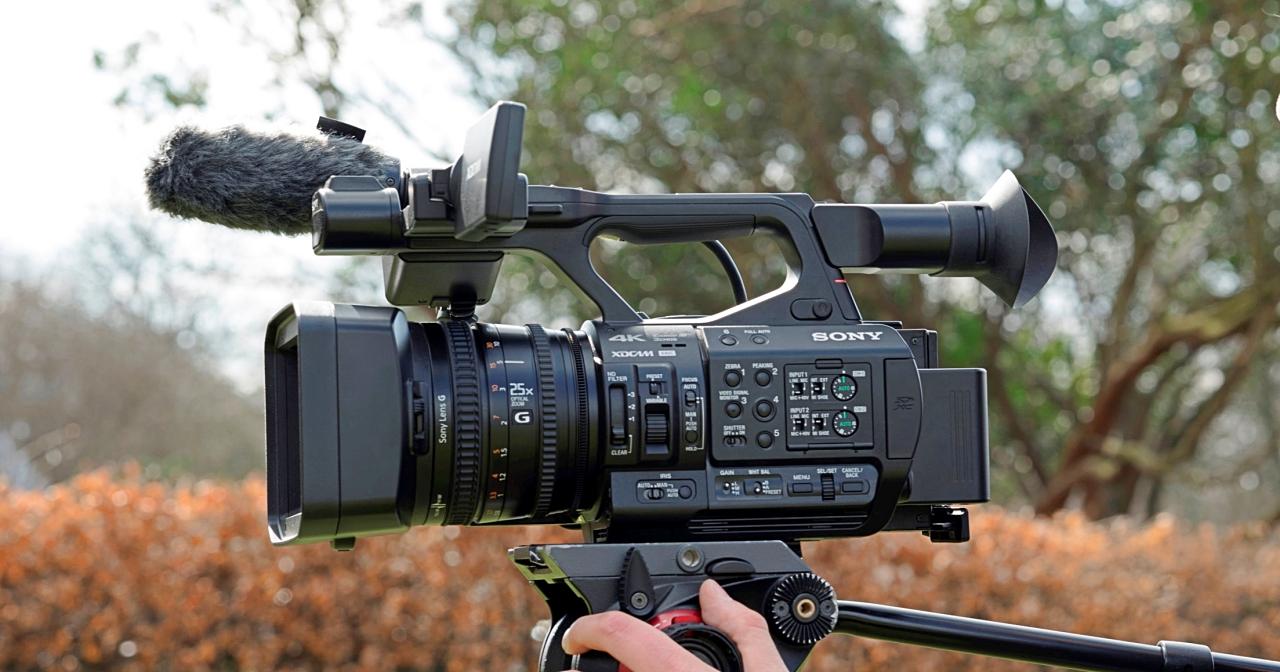 """全球首創 4K 三片 1/3"""" 感光元件設計,Sony XDCAM PXW-Z190 廣播級手持型攝錄一體機在台上市"""