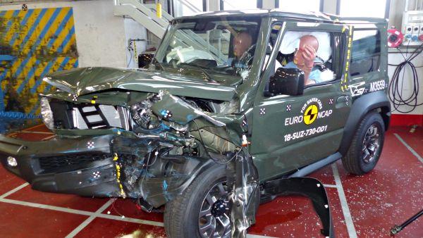 越野小尖兵也有缺點?Suzuki Jimny「Euro NCAP撞擊測試」得到三星評價