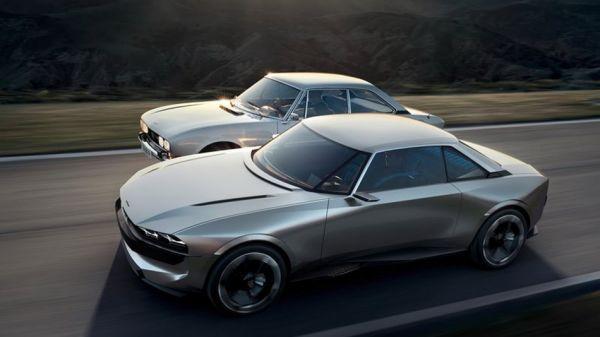復刻概念正潮,Peugeot e-Legend Concept以504 Coupe作為範本描繪未來移動世界!