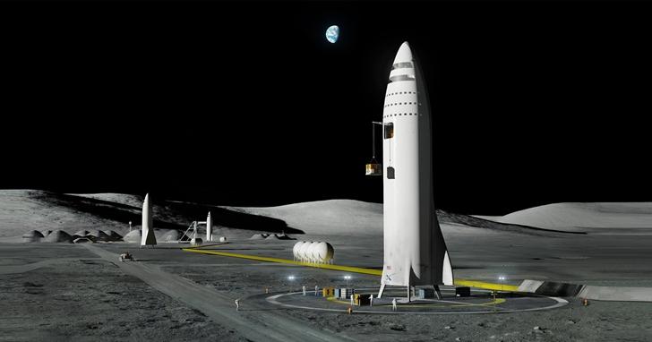 為什麼 Space X的首位月球遊客不能登陸月球上行走?