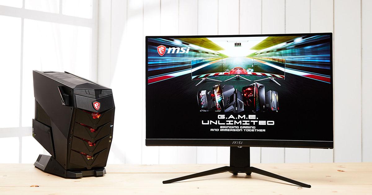 MSI Optix MAG271CR 電競曲面螢幕實測:反應極速、絕不延遲的電競逸品!
