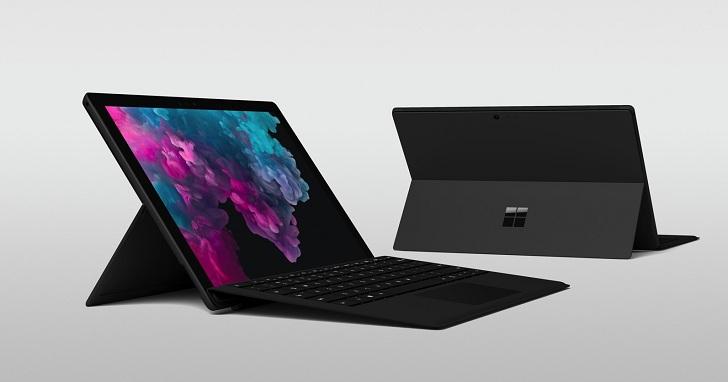 微軟 Surface Pro 6 、Surface Laptop 2 升級處理器推出,效能最大提升 85%