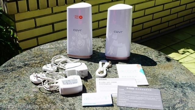 [心得][分享] 友訊科技D-Link COVR-2202三頻Mesh Wi-Fi系統,超廣涵蓋範圍實際測速分享