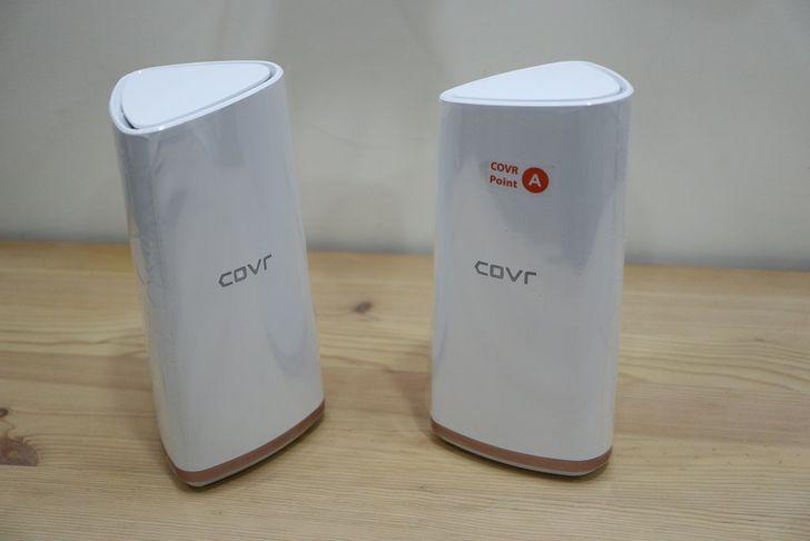 [心得] [開箱] 三頻大範圍Mesh全覆蓋 D-Link COVR-2202 美型路由器