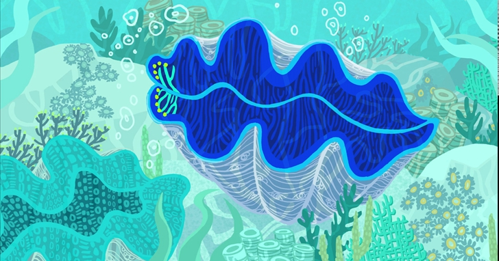 帛琉的神祕發光巨蚌指引了生物能源的前景,也許有拯救地球的潛力!