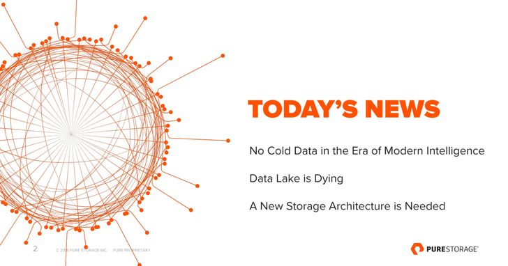 消除資料孤島!Pure Storage發表Data Hub資料中樞架構
