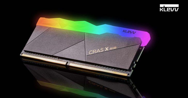 艾思科旗下KLEVV科賦品牌發佈最新RGB電竸/超頻記憶體