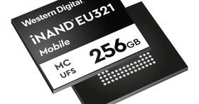 目標高階智慧型手機市場 Western Digital推出業界首創96層3D NAND UFS 2.1嵌入式快閃記憶體