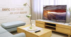 專注護眼科技的BenQ,推出最新的4K HDR 智慧藍光2.0 55吋液晶電視