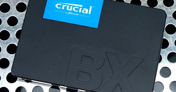 瞄準傳統硬碟升級市場,入門款 Micron Crucial BX500 480GB SSD 測試