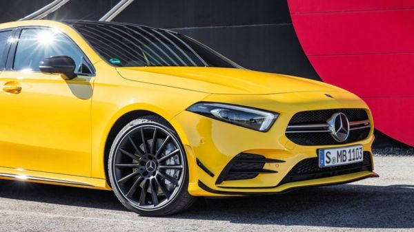 最便宜四門AMG現身,Mercedes-AMG A35 Sedan路試捕獲,同樣強悍的硬體,有尾勝無尾!