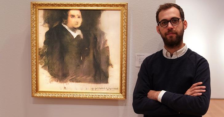 AI 人工智慧所畫的人物肖像油畫在佳士得賣出了43萬美元的價格