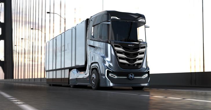 特斯拉的競爭對手推出氫動力卡車,續航最高達1200公里