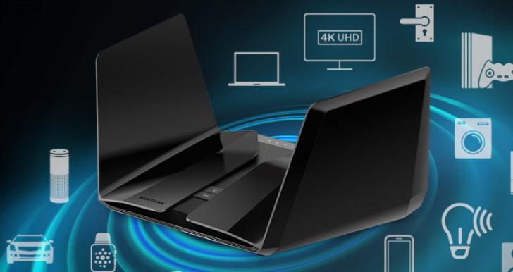 Netgear 發表 2 款 802.11ax/Wi-Fi 6 無線路由器,Nighthawk AX8 RAX80 與 AX12 RAX120 選用不同晶片 | T客邦