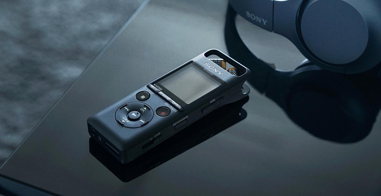 專為音樂人設計,Sony 推出可錄製高解析音質的 PCM-A10 線性錄音筆