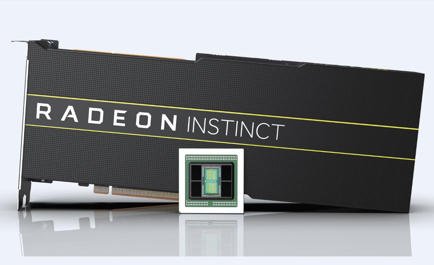 AMD發表全球首款7奈米製程資料中心GPU