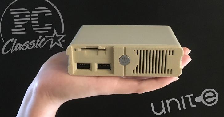 當電腦也跟上懷舊風潮,PC Classic 是台能玩 30 款 DOS 遊戲的小主機