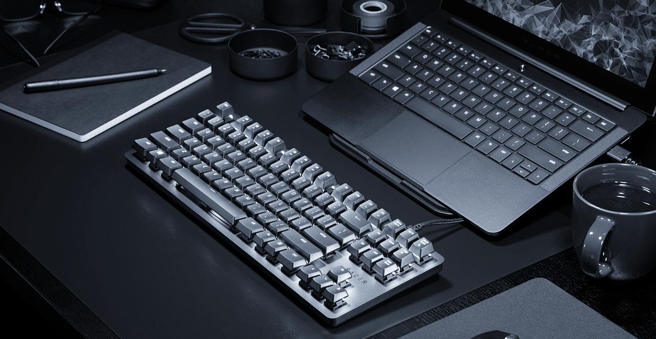 不只做電競,Razer 推出適合辦公室使用、工作遊戲雙修的 BlackWidow Lite 機械式鍵盤