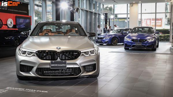 登峰造極的「M」字母,BMW M5 Competition「765萬元」正式發售,M3 CS/M4 CS 連袂「限量登台」!