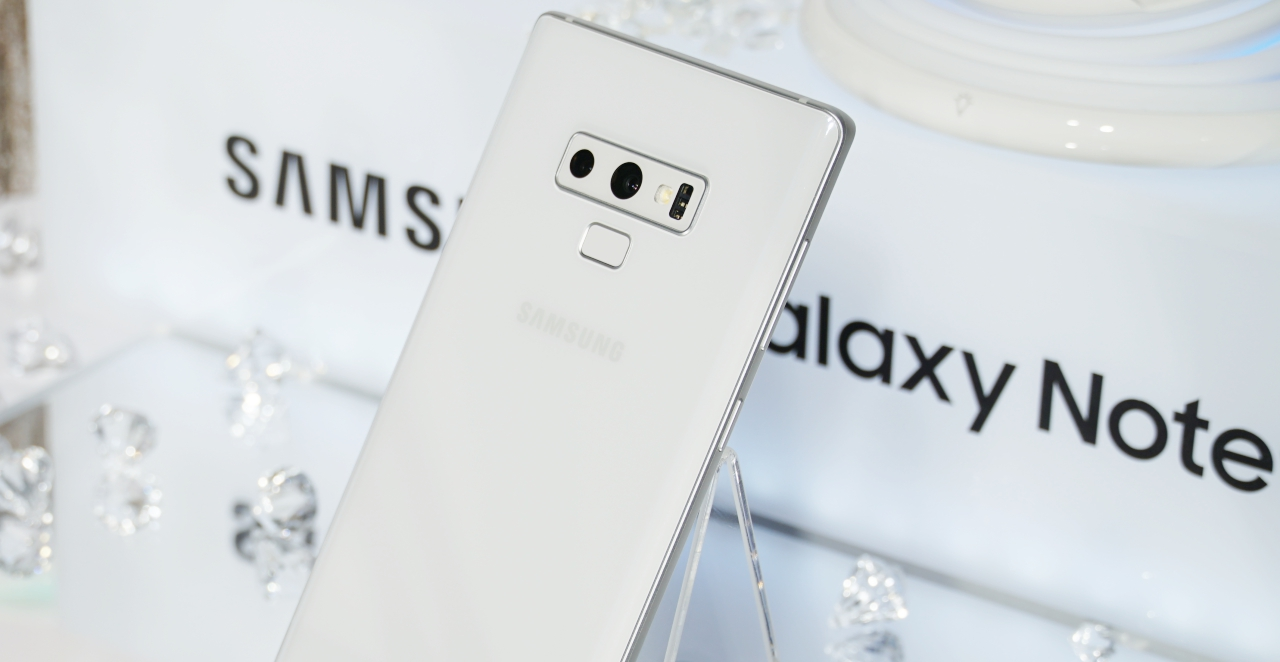 三星推 Galaxy Note 9 初雪白新色,年底前買再送無線快充氣氛燈