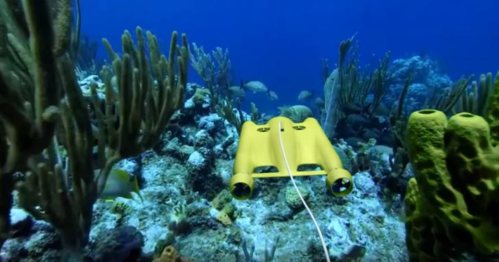 Gladius高智能水下無人機在資訊月現身,潛水娛樂、專業探索皆適用