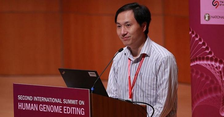 「我知道中國禁止這類實驗」賀建奎48小時之後首度現身香港大學會議中心,針對基因改造雙胞胎做出回應