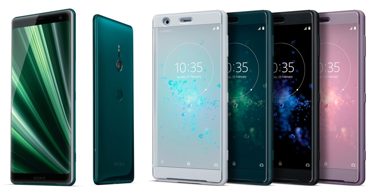 Sony Mobile 聖誕活動,XZ2 / XZ3 旗艦限時促銷、加碼送行動電源、記憶卡