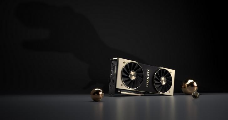 NVIDIA推出TITAN RTX顯卡,達11GigaRays與130 TFLOPS深度學習性能