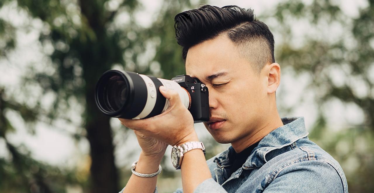 以人為主的鏡頭視角,傾聽專業婚攝蔣樂透過 Sony α7R III 與 α7III 訴說的真摯情感
