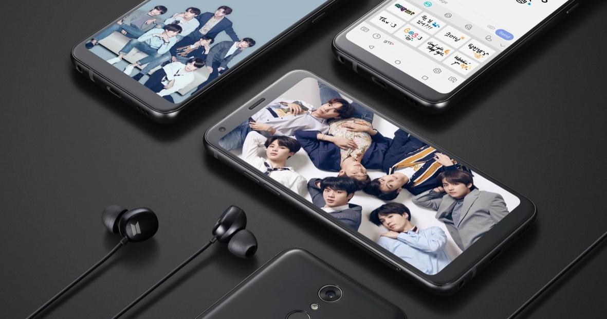 迷妹注意!LG 推出 BTS 限定版 LG Q7+ 新機