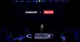 三星在中国宣称与潮牌「Supreme」合作,不光被Supreme 美国官方不认还被网友质疑是「山寨Supreme」 第1张