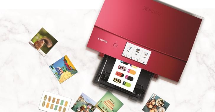 Canon 推出 PIXMA TS8270、TS9570多功能複合機,不只印相片、還能自製美甲貼