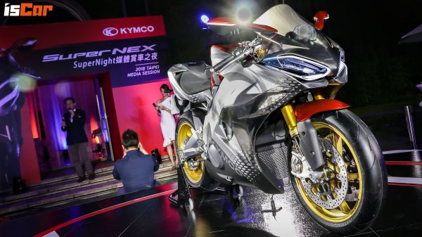 國產電能新紀元,Kymco SuperNEX電動重機正式登台!