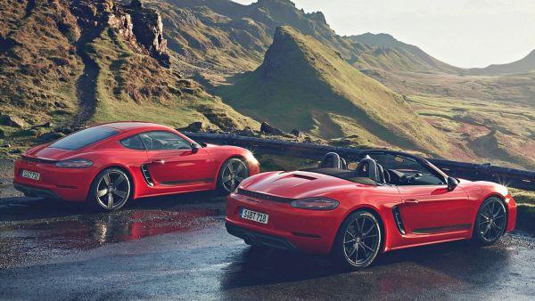 純粹的美好!Porsche 推出 718 Cayman / Boxster T