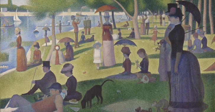 美國芝加哥美術館開放了5 萬張名畫免費下載,商業用途也可以