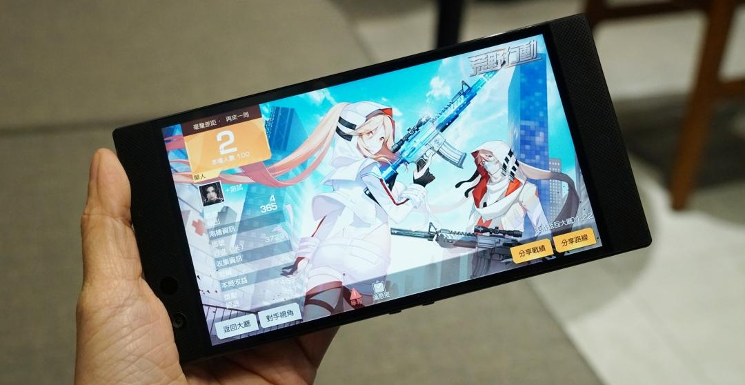 Razer Phone 2 動手玩,還差那麼一步的電競手機