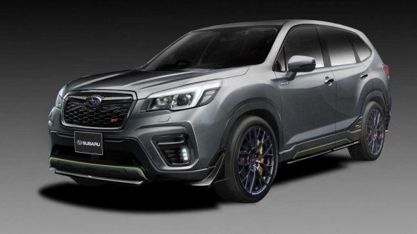 Forester STI x Impreza STI 「雙概念車」領銜,Subaru 公佈 2019 東京改裝車展「參展陣容」!
