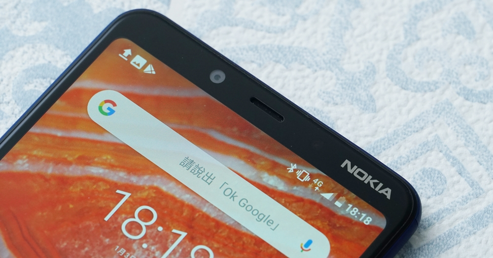 售價只要 5,990 元 的 Nokia 3.1 Plus 動手玩,入門級也有 雙主鏡頭和 3,500mAh 大電量