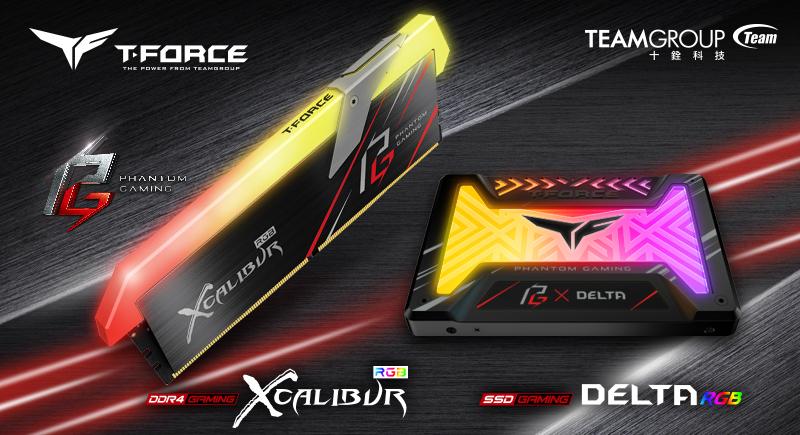 十銓科技發表與主機板大廠華擎合作推出Phantom Gaming聯名款 RGB記憶體及RGB固態硬碟